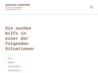 Adrian Lenkner - Beratung, Coaching, Seelsorge
