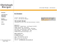 Berger, Christoph