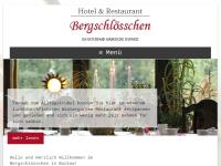 """Hotel und Restaurant """"Bergschlösschen"""""""