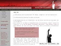 Berlin-Gesang
