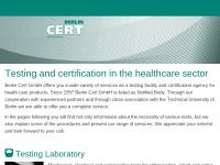 Berlin Cert Prüf- und Zertifizierstelle für Medizinprodukte GmbH