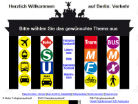 Public Transport and Traffic in Berlin