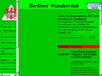 Berliner Wanderclub e.V.