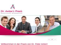 Dr. Peter Anton, Praxis für Arbeitsmedizin und Betriebsmedizin