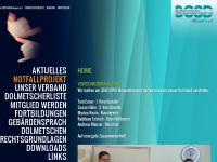 Berufsfachverband der GebärdensprachdolmetscherInnen Bayern e.V.