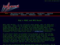 Bop's MIDI und MP3 Musik