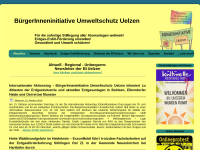 Bürgerinitiative gegen Atomanlagen Uelzen