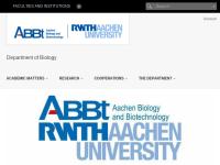 Fachgruppe Biologie der RWTH Aachen