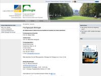 Fachgruppe Biologie der Rheinischen Friedrich-Wilhelms-Universität Bonn