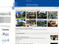 Fakultät für Biologie der Albert Ludwigs Universität