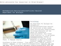 Fachgruppe Biologie an der Uni Köln