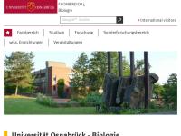 Fachberich Biologie der Universität Osnabrück