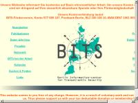 BITS - Berliner Informationszentrum für transatlantische Sicherheit