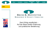 Bruno K. Hofstetter, Management & Security Consulting