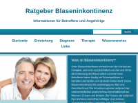 Ratgeber Blaseninkontinenz
