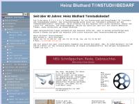 Tonstudiobedarf Bluthard