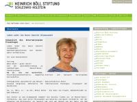 Heinrich-Böll-Stiftung Schleswig-Holstein - anderes lernen e.V.