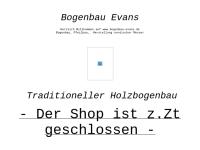 Mittelalterliches Handwerk, Bogenbau Jürgen Evans