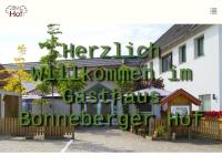 """Hotel - Restaurant """"Bonneberger Hof"""", Vlotho"""