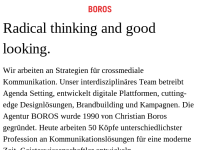 Boros GmbH und Boros.Interaktiv GmbH