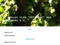 1. Boules Club Petanque Bad Godesberg e. V.