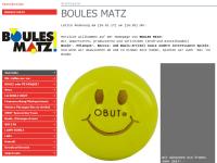 Boules Matz