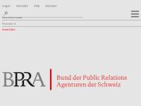 Bund der Public Relations Agenturen der Schweiz (BPRA)