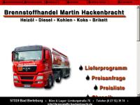 Brennstoffhandel Martin Hackenbracht