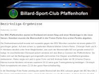 Billard-Sport-Club Pfaffenhofen