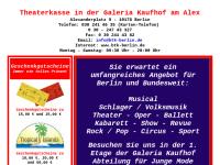 Berliner Theater- und Konzertkassen