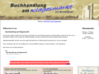 Buchhandlung am Klagesmarkt mit Büchergilde - Inh. Hellmuth Styrno