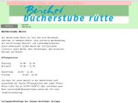 Bücherstube Rütte, Inh. Regula Bühlmann