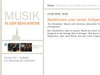 Musik in der Bühlkirche