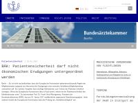 Bundesärztekammer - Genitalverstümmelung