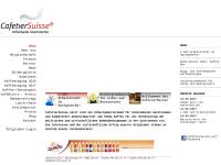 Schweizer Cafetier Verband [SCV] - Arbeitgeberverband im Gastgewerbe