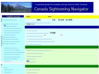 Canada Sightseeing Navigator