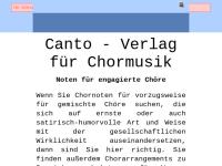 Canto-Chormusik