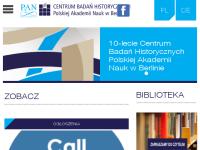 Polnischen Akademie der Wissenschaften - Zentrum für Historische Forschung Berlin