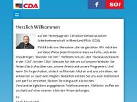 Christlich-Demokratische Arbeitnehmerschaft (CDA) Rheinland-Pfalz