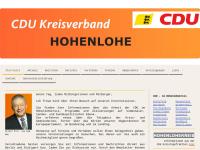 CDU Hohenlohe