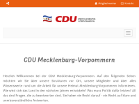 CDU-Landesverband Mecklenburg-Vorpommern