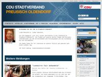CDU Stadtverband Preußisch Oldendorf