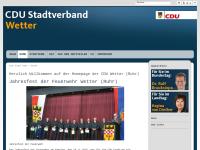 CDU-Stadtverband Wetter an der Ruhr