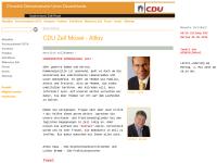 CDU-Stadtverband Zell/Mosel