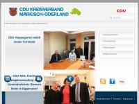 CDU-Kreisverband Märkisch-Oderland