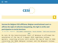 Europäische Union Unabhängiger Gewerkschaften [CESI]