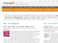 ChangeX: Wandel in Wirtschaft und Gesellschaft
