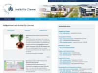 Chemischen Institute an der Universität
