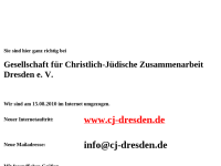Dresden - Gesellschaft für christlich-jüdische Zusammenarbeit