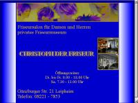 Christoph der Friseur